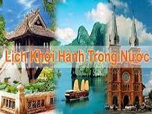 Lịch Khởi hành tour du lịch Nội địa của du lịch Ngọc Việt