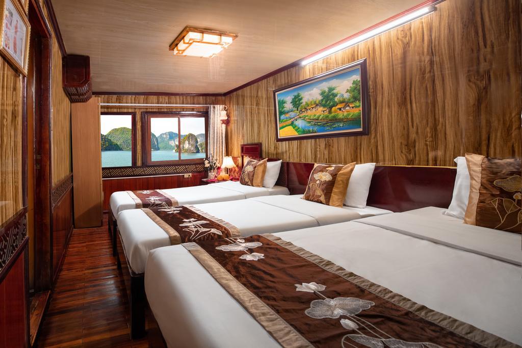 Du thuyền Halong Cozy Bay 2N1D