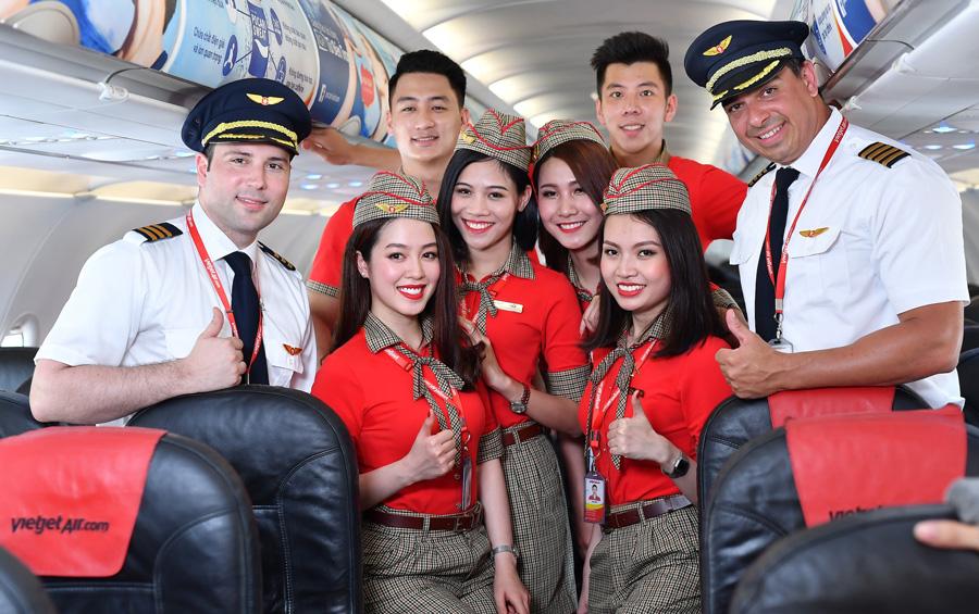 Vietjet Air - Bay là thích ngay đặt vé cùng Du Lịch Ngọc Việt